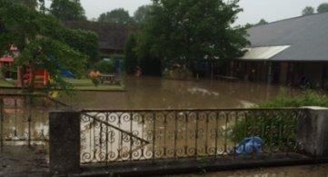 Sous eaux, l'institution « les Tourelles » a été évacuée