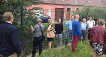 Les conseillers provinciaux rendent visite à l'Institution provinciale « Les Tourelles ».