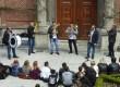Une ambiance tzigane à l'IPES Tournai