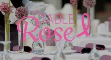 La Table Rose, un évènement culinaire pour lutter contre le cancer