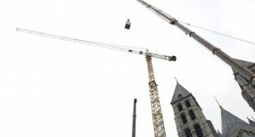 L'imposante grue du chantier « Cathédrale » ne fera plus partie du paysage !