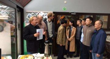 Des stagiaires chinois au CARAH à Ath !