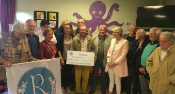 Le Club Richelieu fait un don de 5000 € aux « Tourelles »