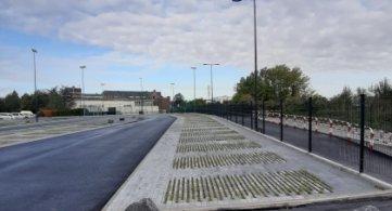 La HEPH-Condorcet Tournai poursuit ses travaux d'expansion : un nouveau parking