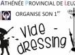 Vide-dressing à l'Athénée Provincial de Leuze-en-Hainaut